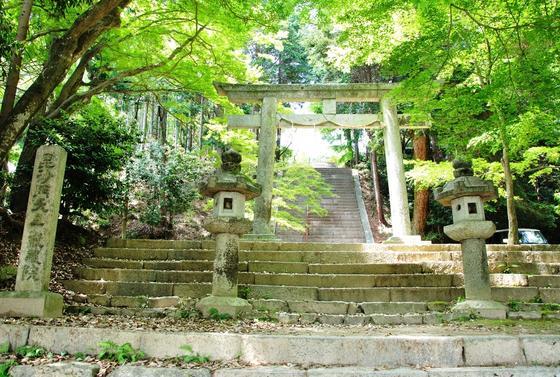 日吉東照宮の入口