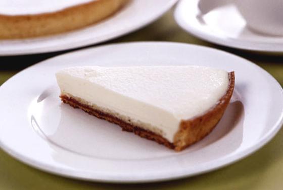 さっぱりクリーミーなチーズケーキ