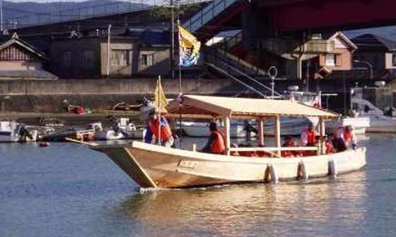 河崎川の駅「木造船 みずき」