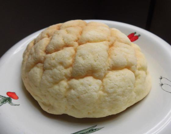 円形のメロンパン