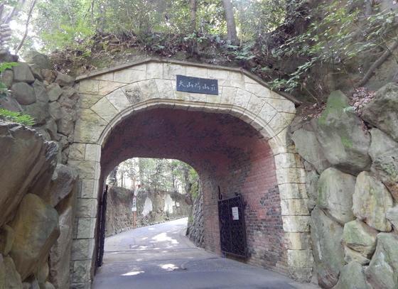 琅玕洞(ろうかんどう)~庭園に続くトンネル