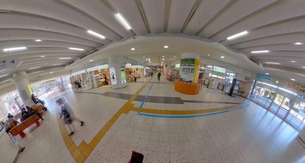 宮崎駅 360度写真