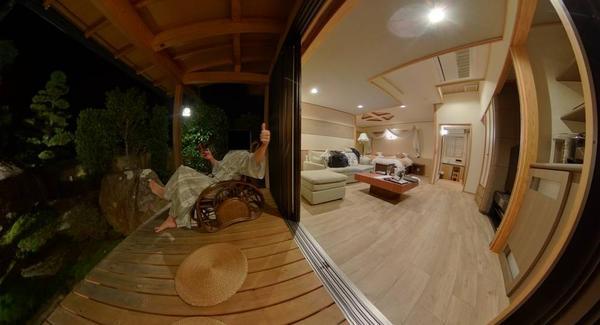 神仙 部屋 360度写真①〜③