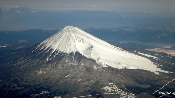春(4月)の富士山