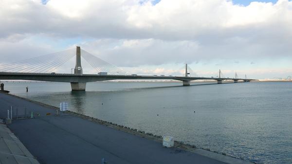 揖斐川と長良川の河口部