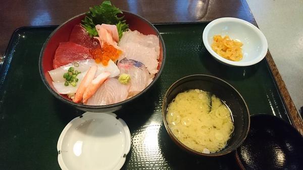 あみなや丼 1450円