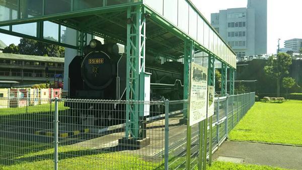 D51形蒸気機関車609号機