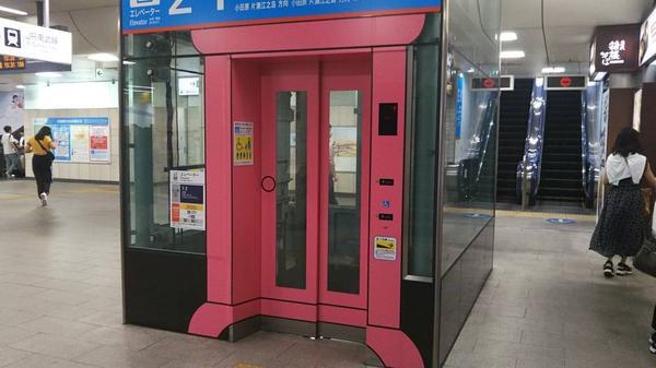 エレベータはどこでもドア