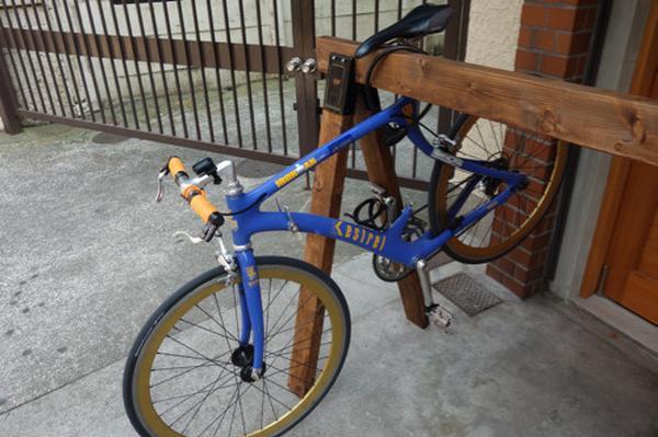 サイクルラック完備