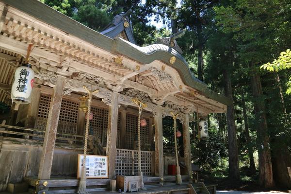 京都府指定登録文化財の本殿