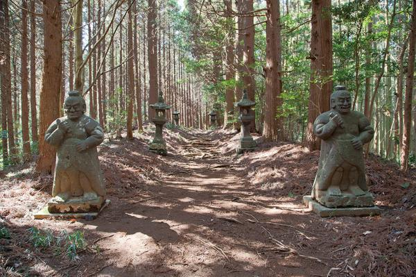 向山神社参道