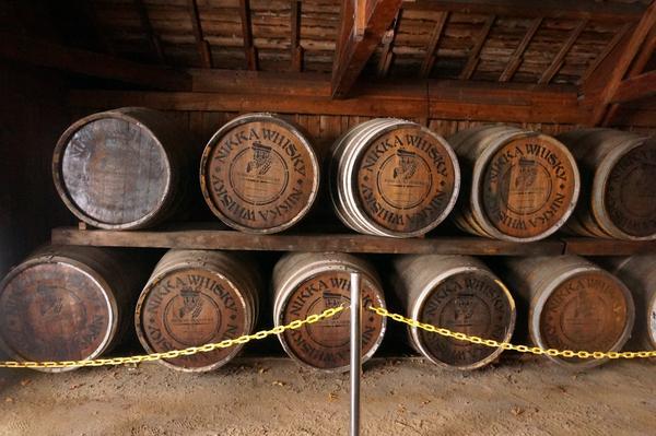 ウイスキーの製造過程を学べます