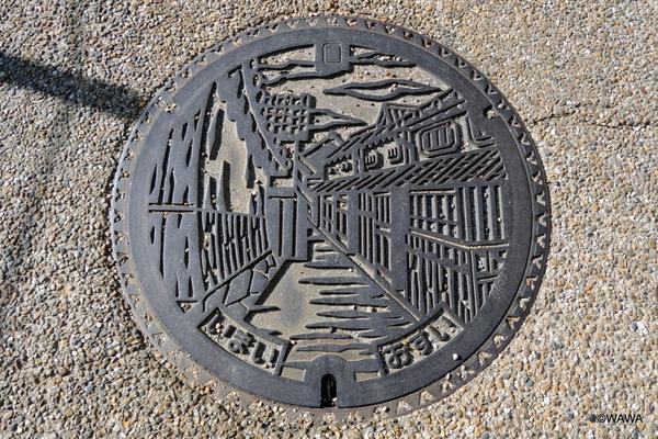 今井町のマンホールキャップ