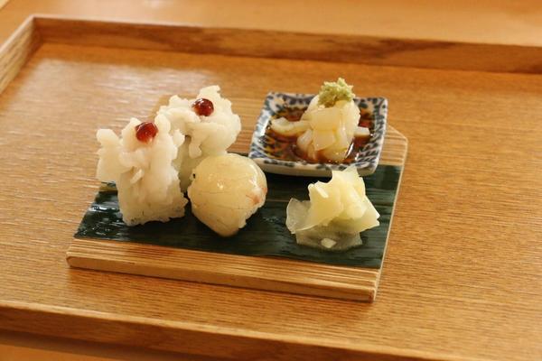 鱧の手まり寿司🍣