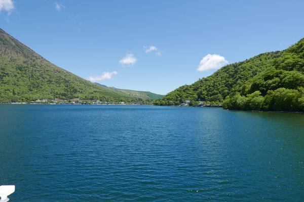 中禅寺湖の一番奥
