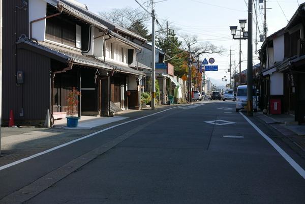 木ノ本の町並み