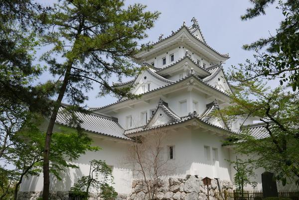 大垣城ですね