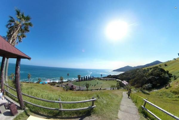 サンメッセ日南 中腹 360度写真