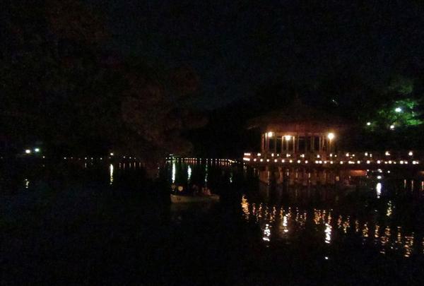 奈良公園 浮見堂の写真・動画_image_177077