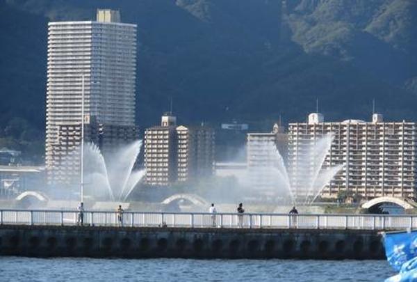 琵琶湖に出ました~!