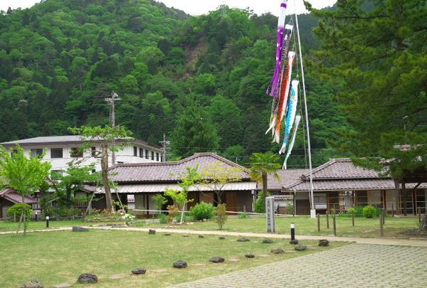 旧生野銀山鉱山職員宿舎