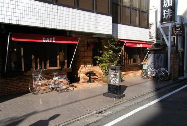 カフェ・アンセーニュ・ダングル 自由が丘店