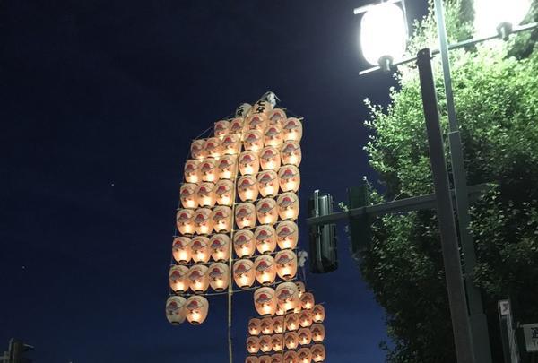 秋田竿燈まつりの写真・動画_image_254994