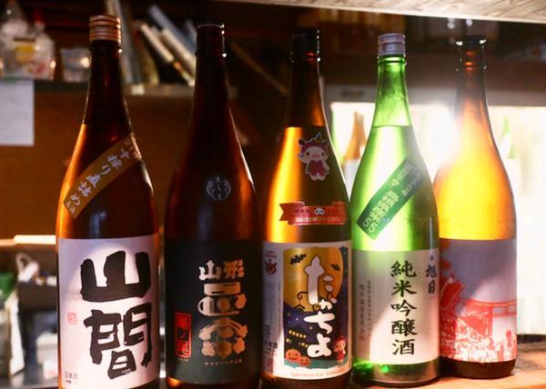 今日の日本酒(一杯 90ml) 390円・490円・590円
