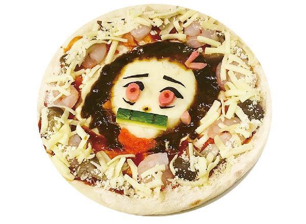 あのキャラクターのピザも…⁉