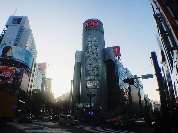 毎回変わる109ビルの容姿😎!
