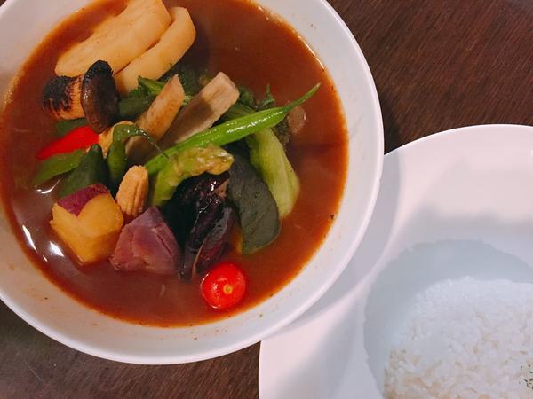 15種の野菜カレー