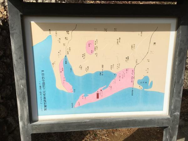 ピンクは最大支配地域