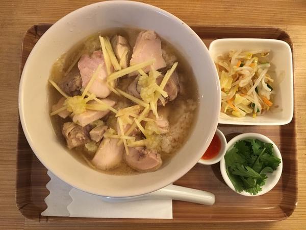 シンガポール風 生姜あんかけ鶏飯 ¥850