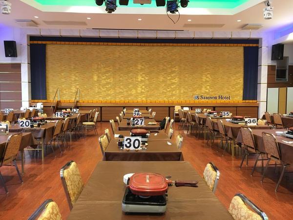 1階の宴会室