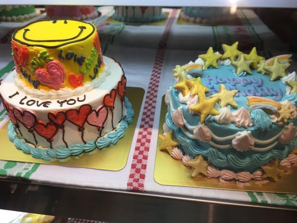 かわいいケーキも売ってた🍰