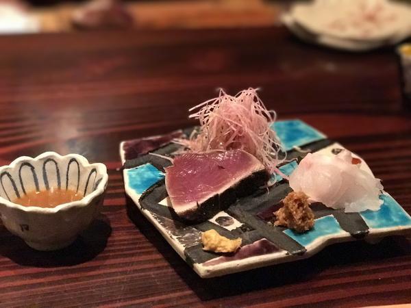 鰹と白甘鯛