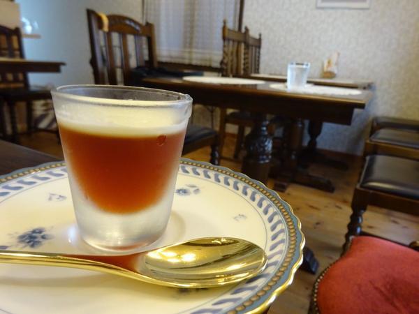 珍しい紅茶ゼリー!