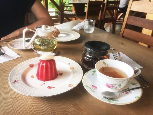 紅茶とケーキ🍰