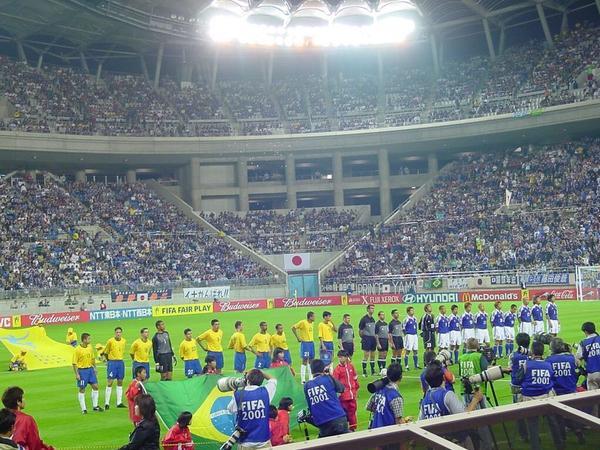 日本vsブラジル