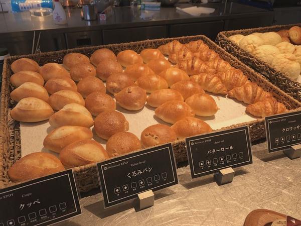 パンが本当ーに美味しかったです!!