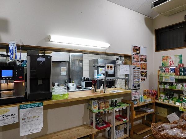 売店および食堂