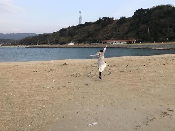 砂浜が広がるので遊ぶのにも最適です♪