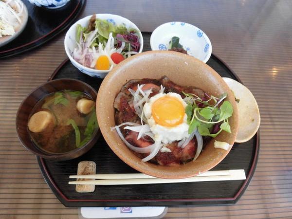 淡路牛ローストビーフ丼セット
