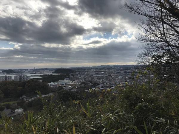 横須賀方面を望む