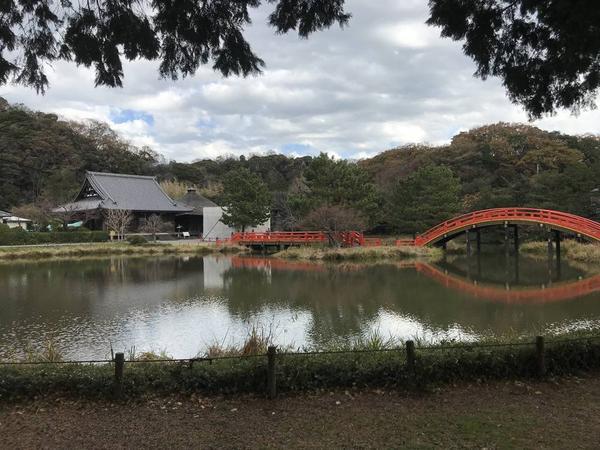 国指定史跡の庭園。