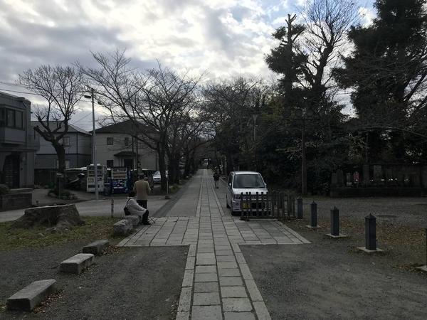 称名寺参道