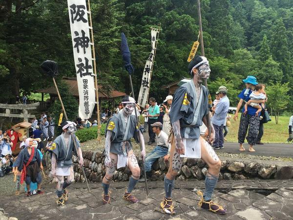 Tauta's Yasaka parade festival - an annual parade festival held on July 14