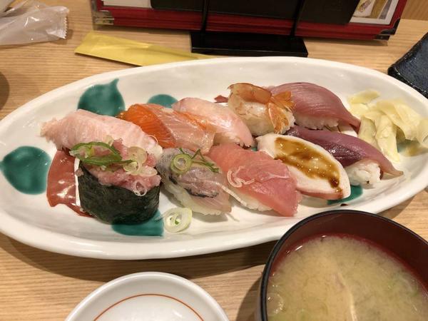 寿司10貫細巻きセット1