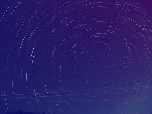 星空撮影  練習中