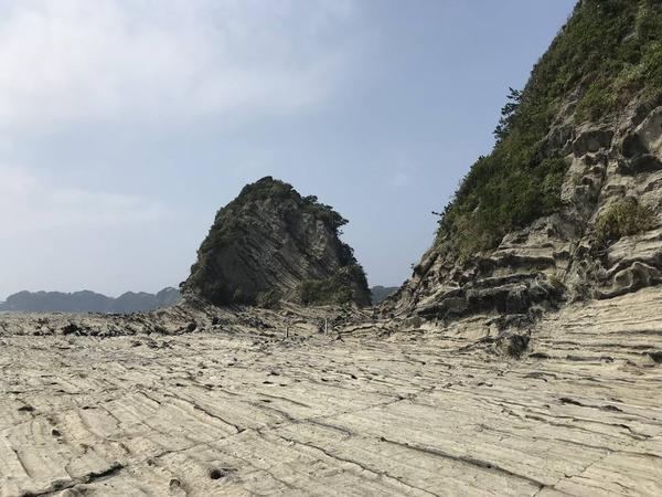 岩棚が広くなって来ました。